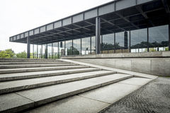 New National Gallery in Berlin Royalty Free Stock Photos
