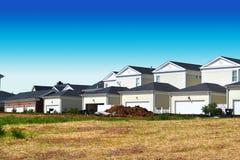 New Neighborhood Under Construction royalty free stock image