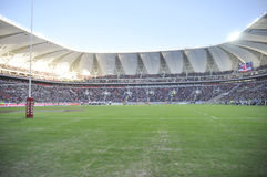 New Nelson Mandela Bay Staduim. First official match between the southern Kings and the british lions as played on the staduim in port elizabeth Stock Photos