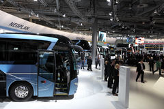 New Neoplan Buses at the IAA Royalty Free Stock Photography