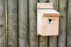 New Nest Box Royalty Free Stock Photo