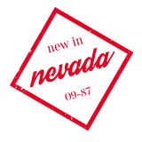 New In Nevada rubber stamp Royalty Free Stock Photos