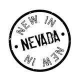 New In Nevada rubber stamp Royalty Free Stock Image