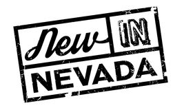 New In Nevada rubber stamp Royalty Free Stock Photo