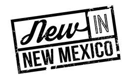 New In New Mexico rubber stamp Stock Photos