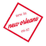 New In New Orleans rubber stamp Royalty Free Stock Photo
