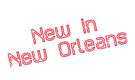 New In New Orleans rubber stamp Stock Image