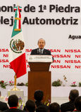 New Nissan car plant in Mexico Royalty Free Stock Photos