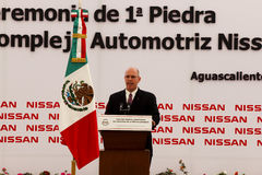 New Nissan car plant in Mexico Royalty Free Stock Photography
