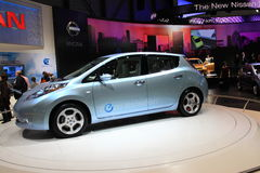 New Nissan Leaf Royalty Free Stock Images