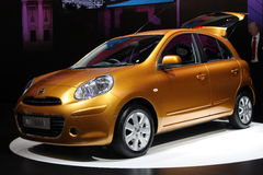 New Nissan Micra Stock Photography