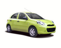 New Nissan Micra Royalty Free Stock Photography