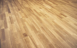 New oak parquet Stock Image