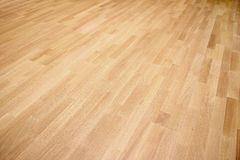 New oak parquet. Of brown color royalty free stock images