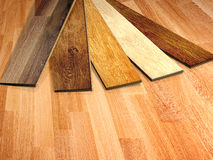 New oak parquet. Of different colors stock illustration