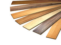 New oak parquet Stock Photo
