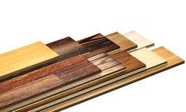 New oak parquet of different colors Stock Photos