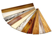 New oak parquet of different colors Royalty Free Stock Photo