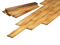 New oak parquet Stock Images