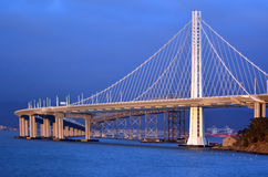 New Oakland Bay Bridge in San Francisco - California Royalty Free Stock Photography