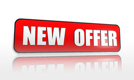 New offer banner Royalty Free Stock Images