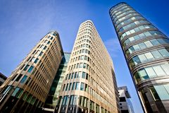 New office building Royalty Free Stock Photos