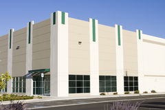 New Office/Storefront. Brand new office building with attractive storefront royalty free stock image