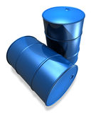 New Oil drums Royalty Free Stock Photo