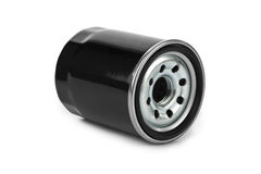 New oil filter car Royalty Free Stock Photos