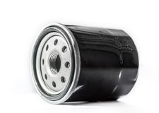 New oil filter car isolated on white background Royalty Free Stock Image