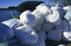 New Oil Spill Absorbency Pads Stock Images