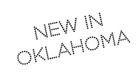 New In Oklahoma rubber stamp Stock Photos