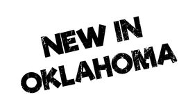 New In Oklahoma rubber stamp Royalty Free Stock Images