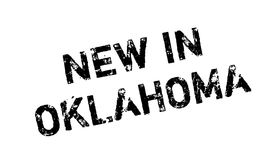 New In Oklahoma rubber stamp Stock Photography