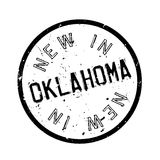 New In Oklahoma rubber stamp Royalty Free Stock Photography