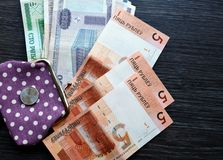 New and old belarusian money Stock Photos