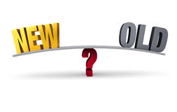 New Or Old? Royalty Free Stock Image