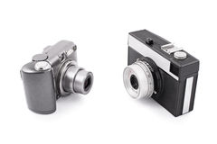 New and old camera Royalty Free Stock Images