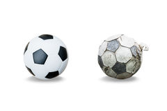 New and old football stock images