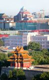 New-old. Panorama of Beijing Stock Photography