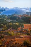 New-old. Panorama of Beijing Stock Image