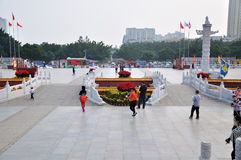 The new Old Summer Palace Entrance Square Royalty Free Stock Image