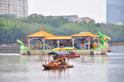 The new Old Summer Palace Park lake scenery Royalty Free Stock Photography