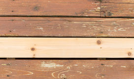 New and Old Wooden Boards Royalty Free Stock Photo