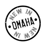 New In Omaha rubber stamp Royalty Free Stock Images