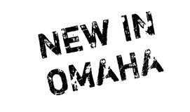 New In Omaha rubber stamp Stock Photography