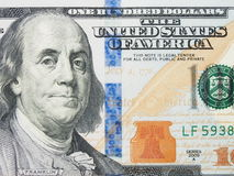 New one hundred dollar bill Stock Image