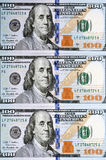 New one hundred dollar bill Royalty Free Stock Photos