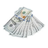 New one hundred dollar bill isolated Stock Photos