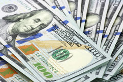New one hundred dollar bills Stock Photography